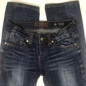 NWOT Rock & Roll Cowgirl Rival Jeans   25 x 34